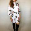 Elegantní šaty s květy 01