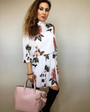 Elegantní šaty s květy 05