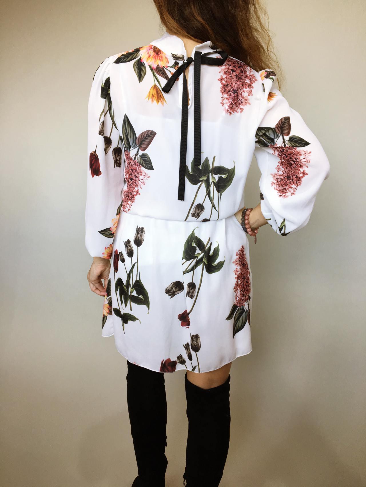 Elegantní šaty s květy 06