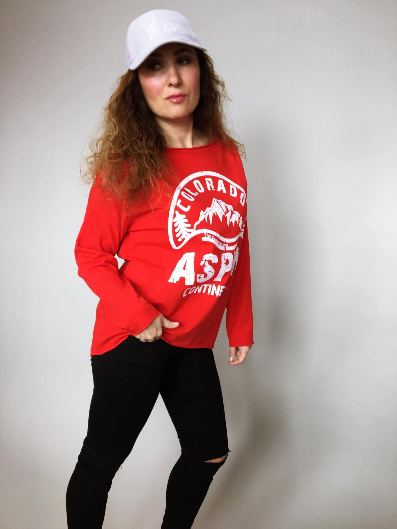 Halenka Aspen červená 03