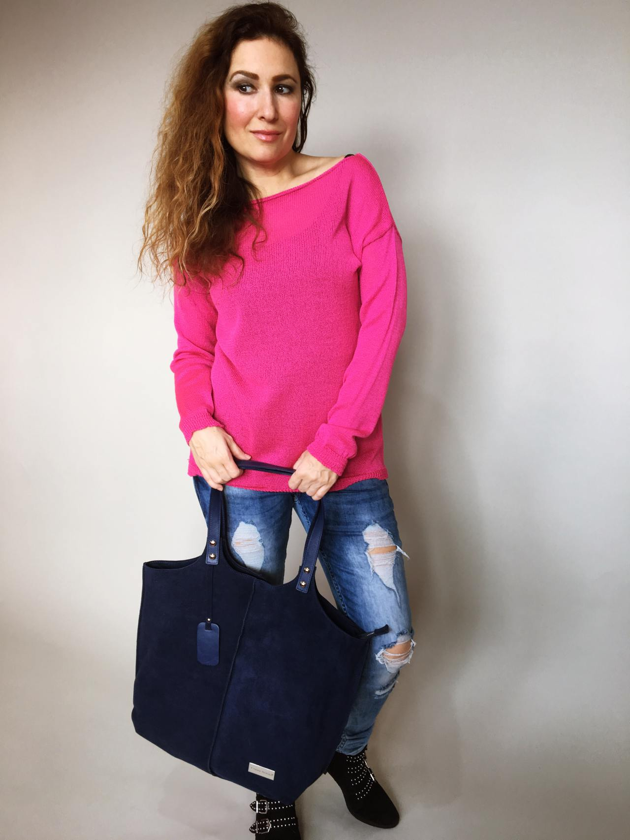 6ffcf807087 Halenka Jasmine fuchsiová – Simm-Fashion.cz