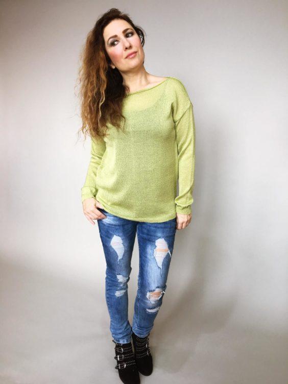 Halenka Jasmine zelená 02