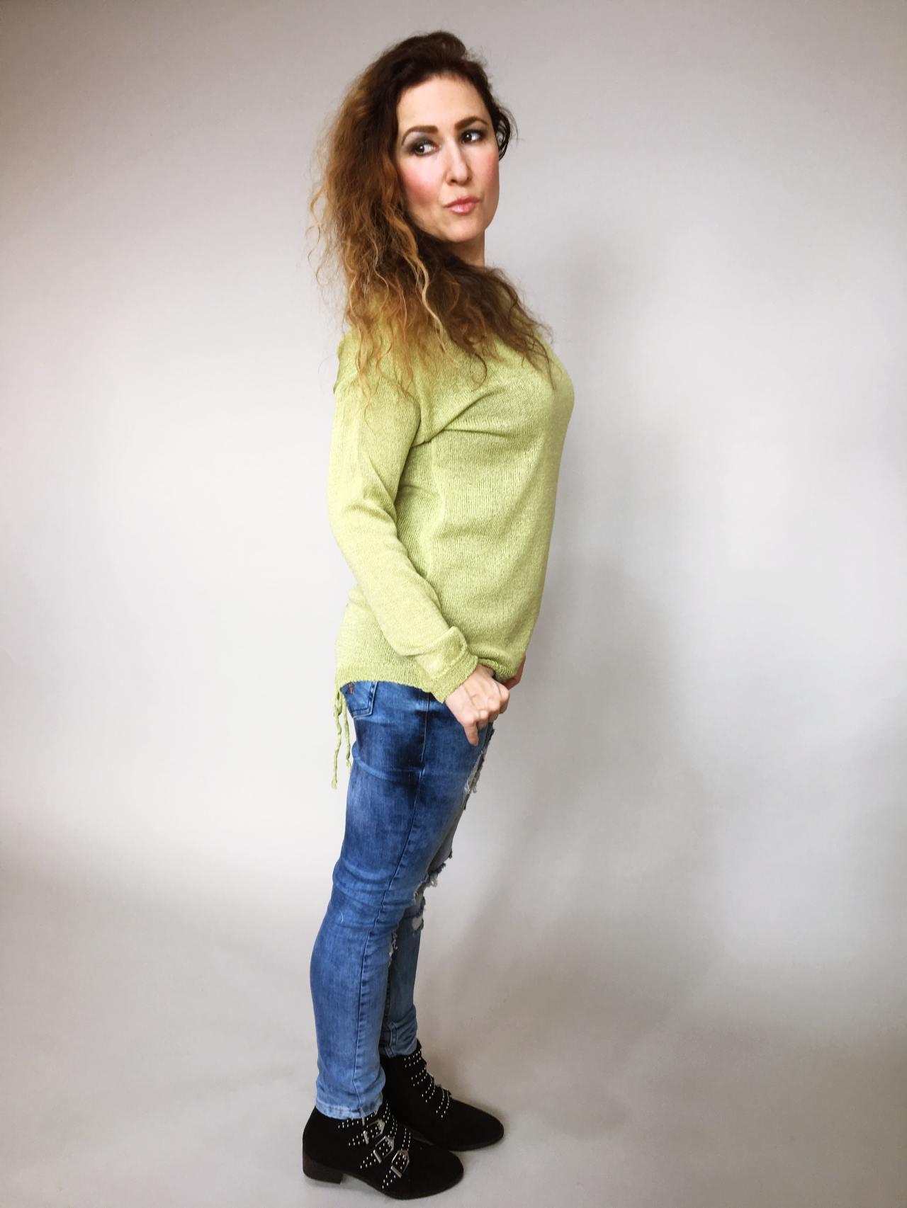 Halenka Jasmine zelená 03