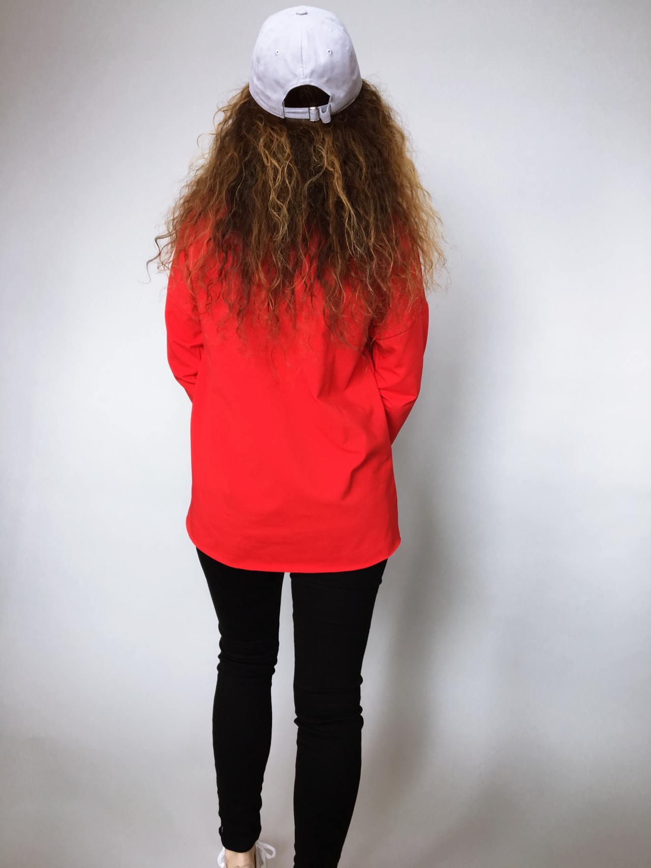 Halenka Pocket červená 05