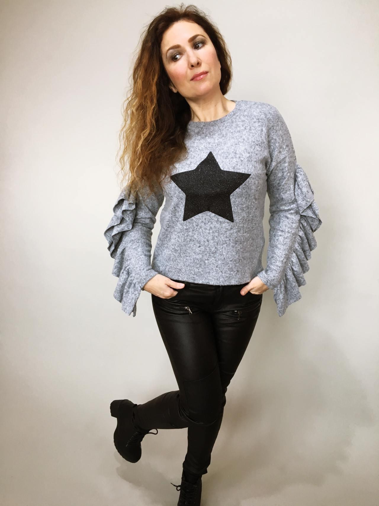 Halenka Star šedá 03