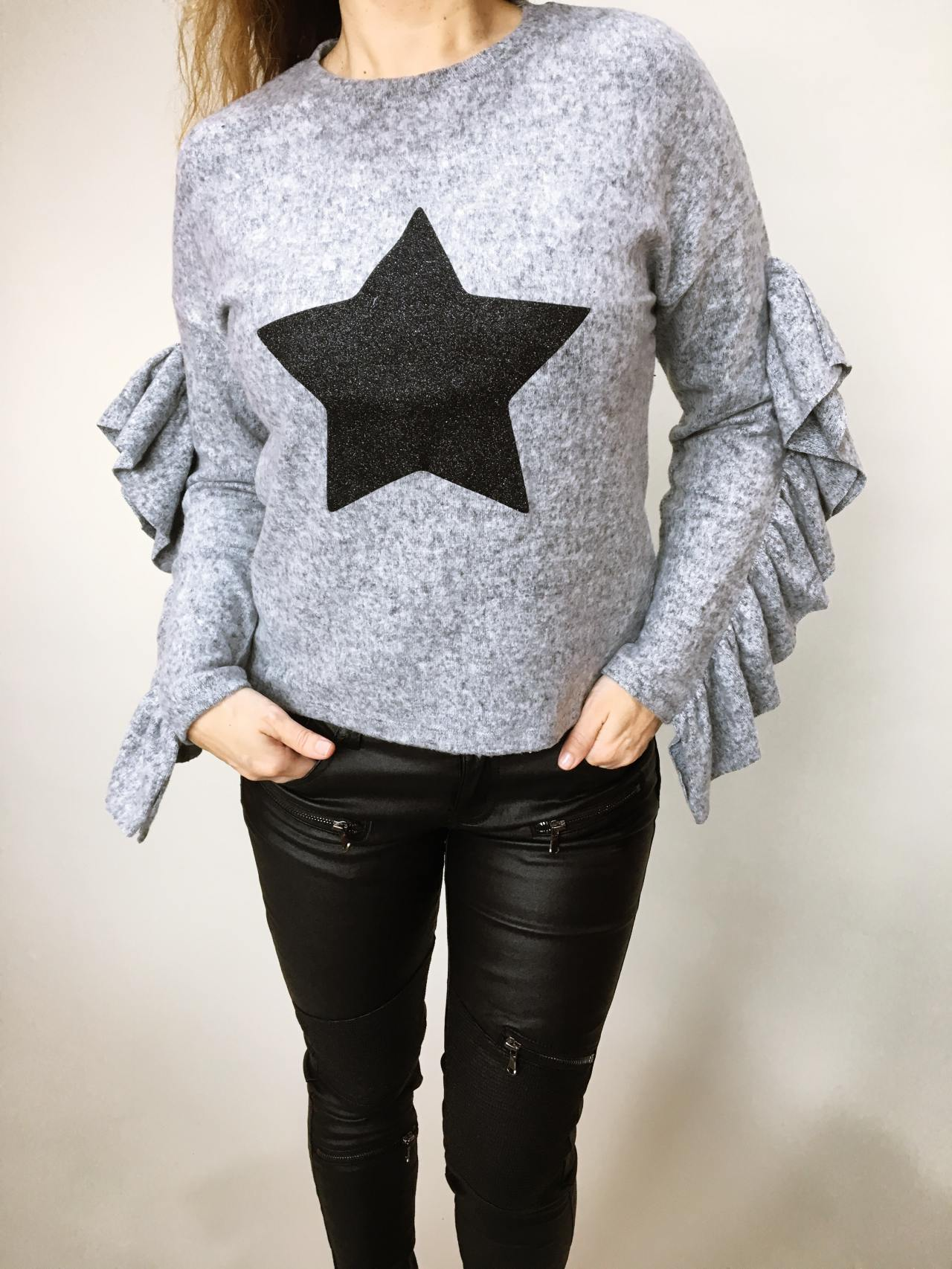 Halenka Star šedá 05