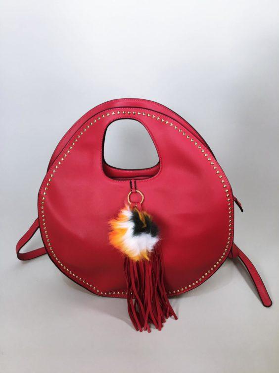 Kabelka Carmen červená 01