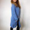 Kardigan Anne modrý 03