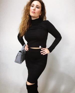 Komplet Lisa černý 09