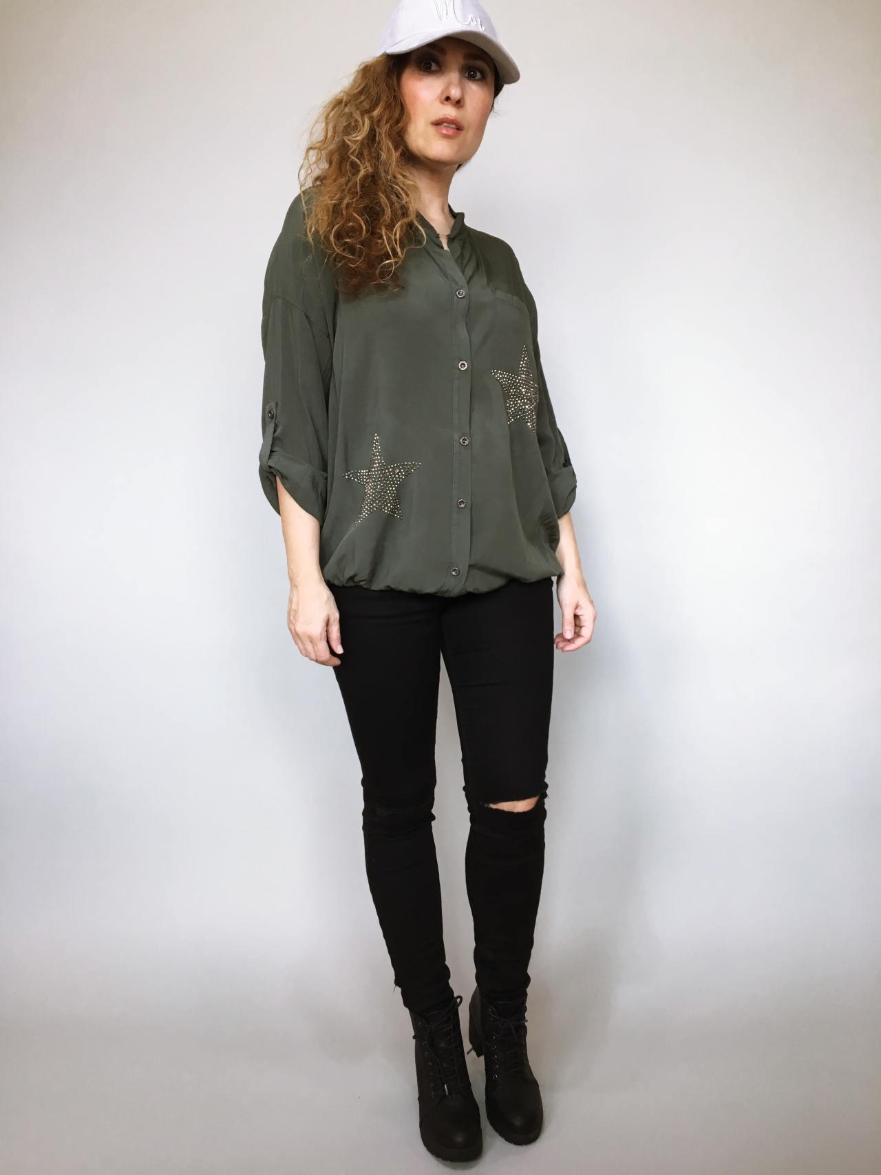 Košile Star khaki 01