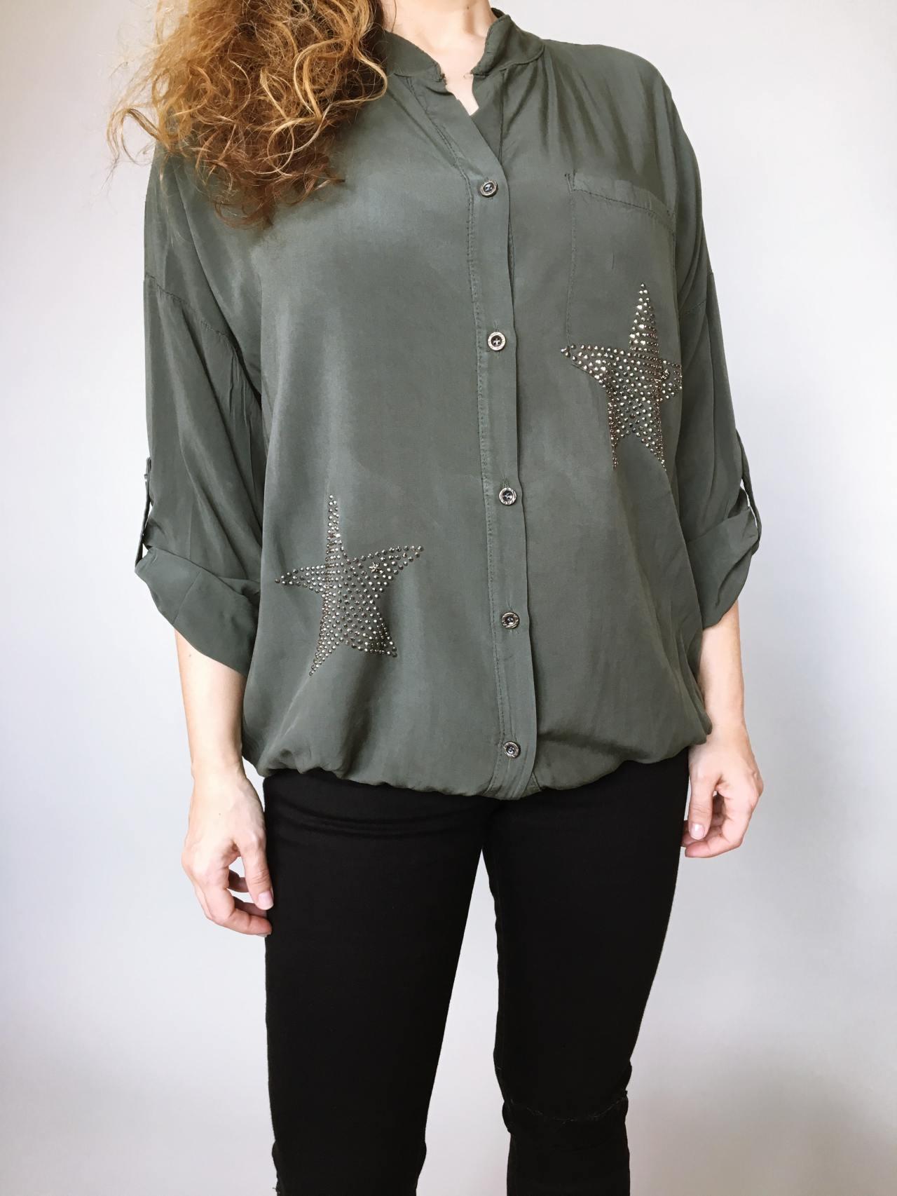 Košile Star khaki 02