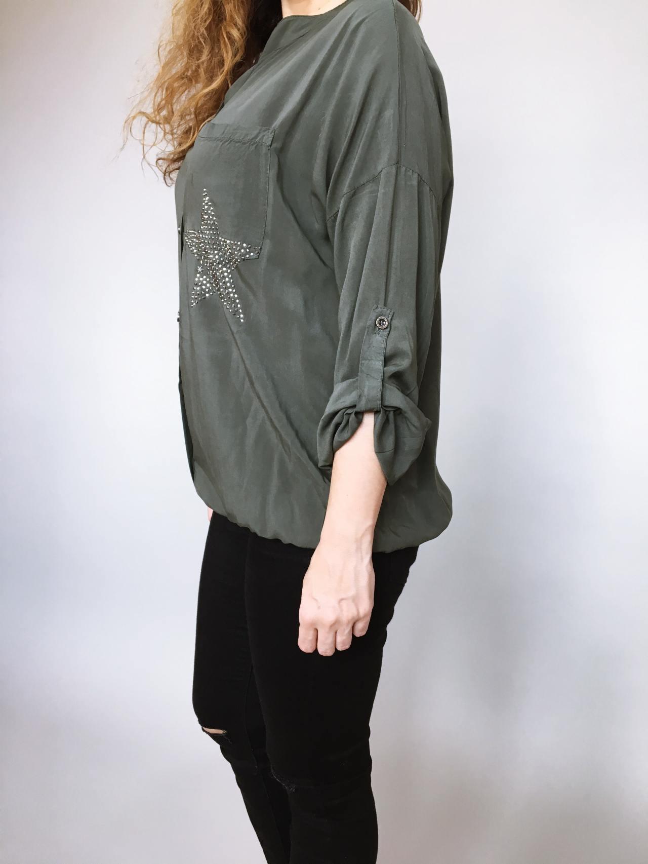 Košile Star khaki 03