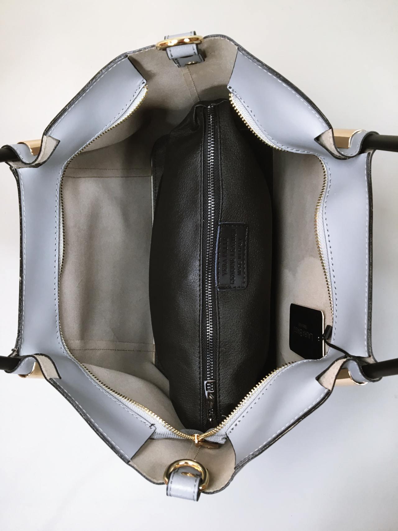 Kožená kabelka Biagy – Simm-Fashion.cz 16eb0ca053
