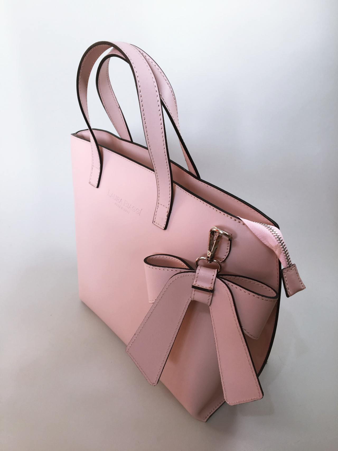 Kožená kabelka Bow 04