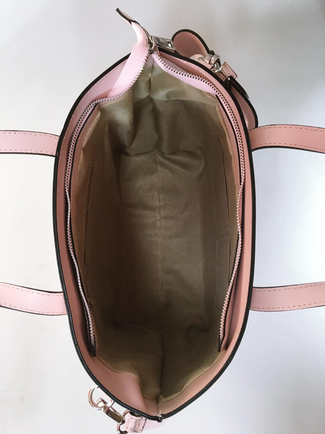 Kožená kabelka Bow 06