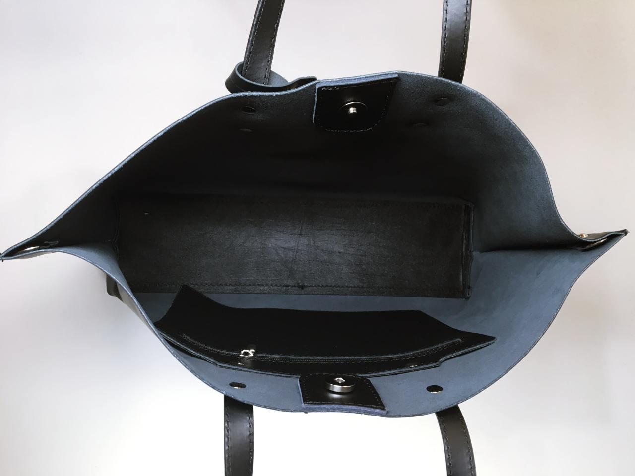 Kožená kabelka Gia 05