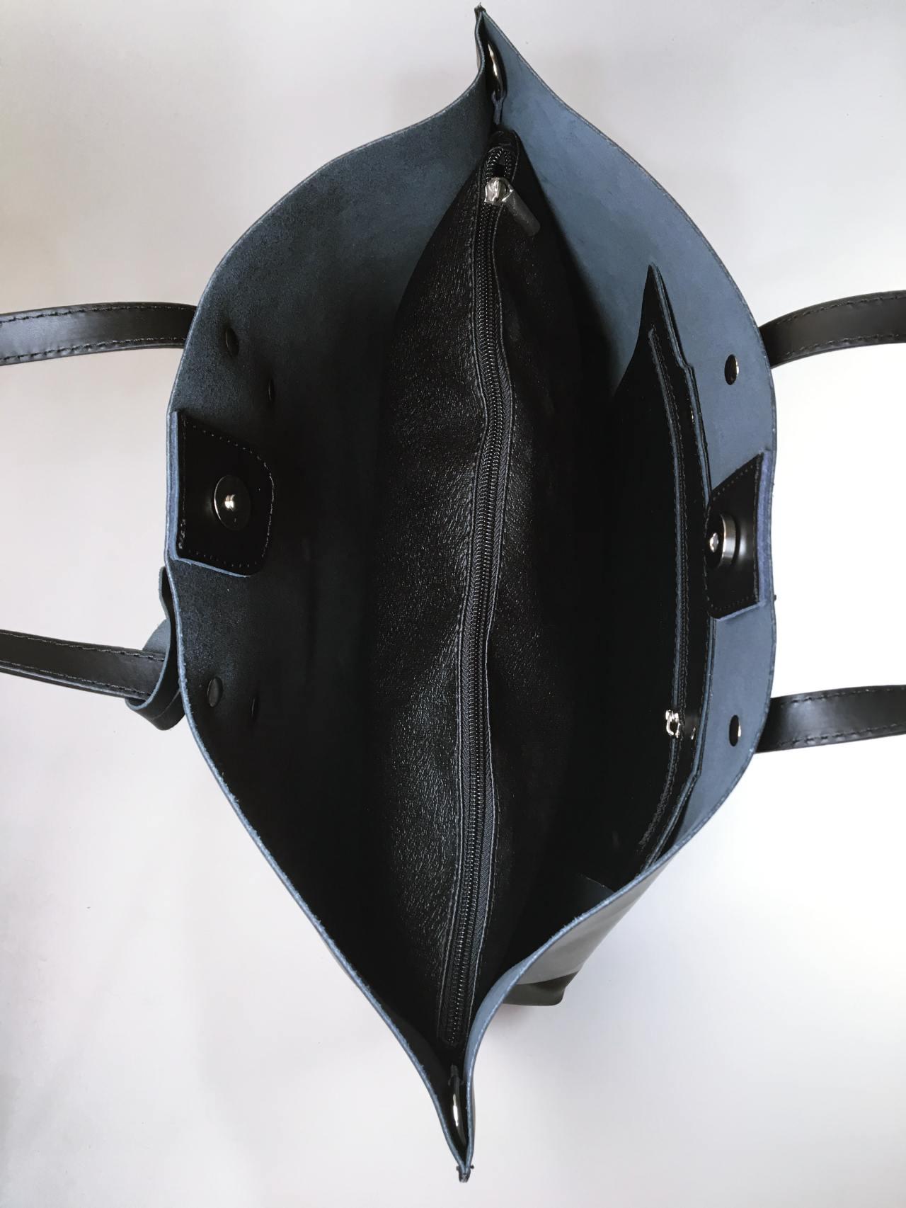 Kožená kabelka Gia 06