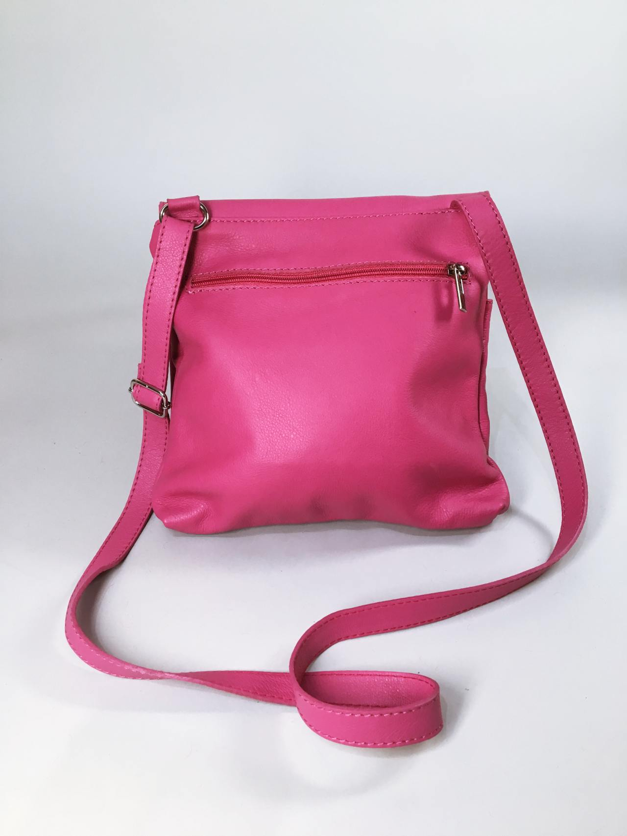 Kožená kabelka Pink – Simm-Fashion.cz 95c65d8184