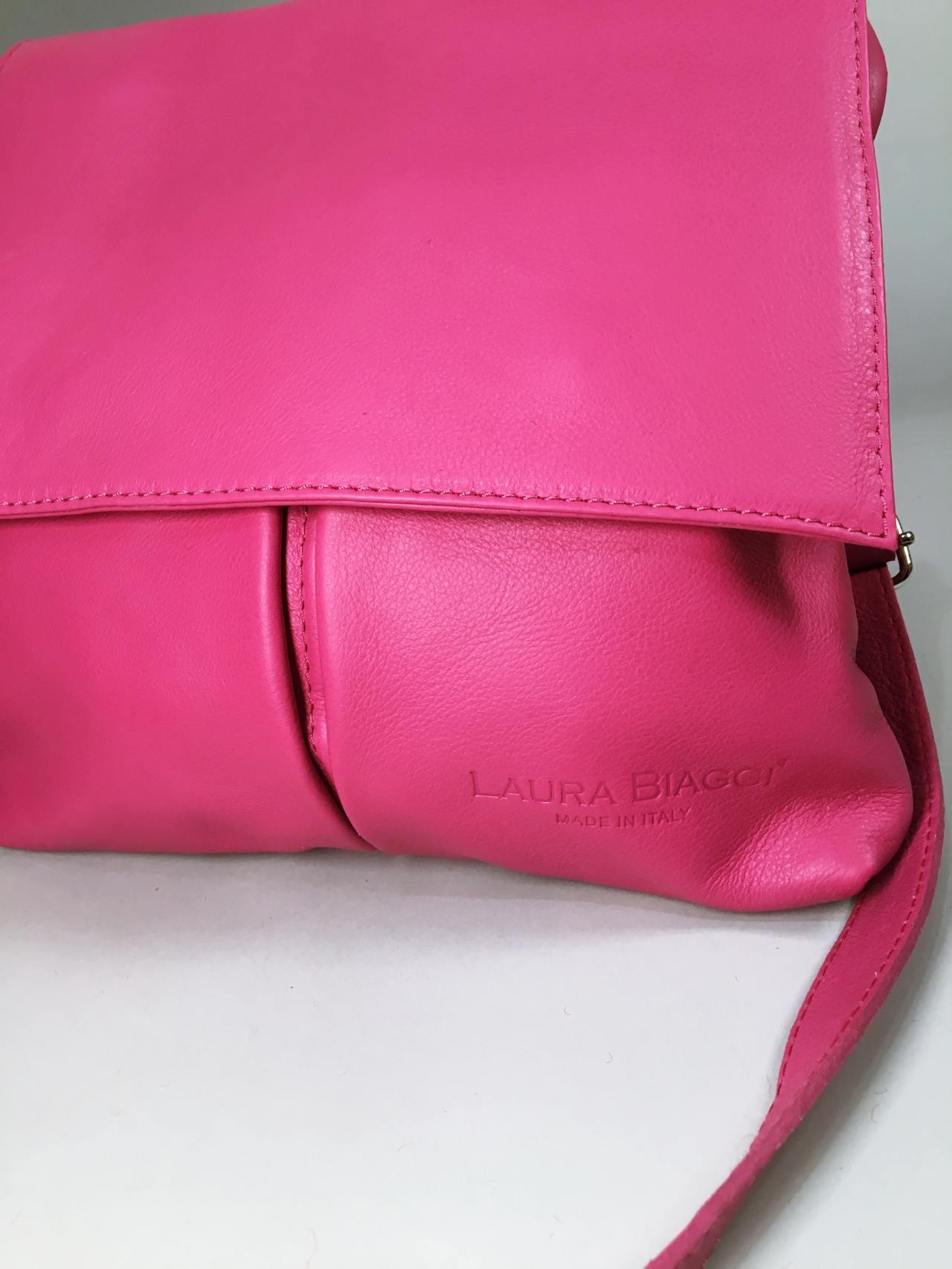 Kožená kabelka Pink 03