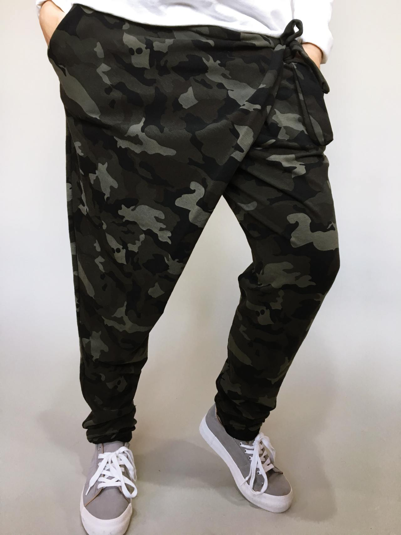 Módní kalhoty army 02