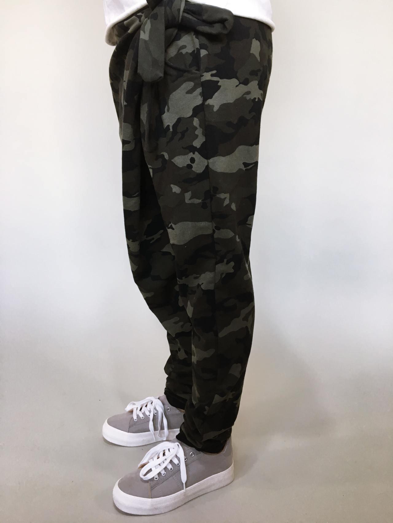 Módní kalhoty army 03