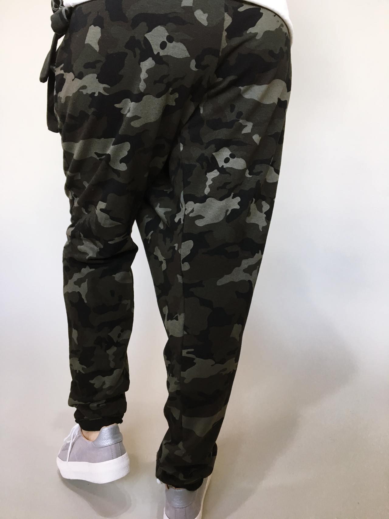Módní kalhoty army 04
