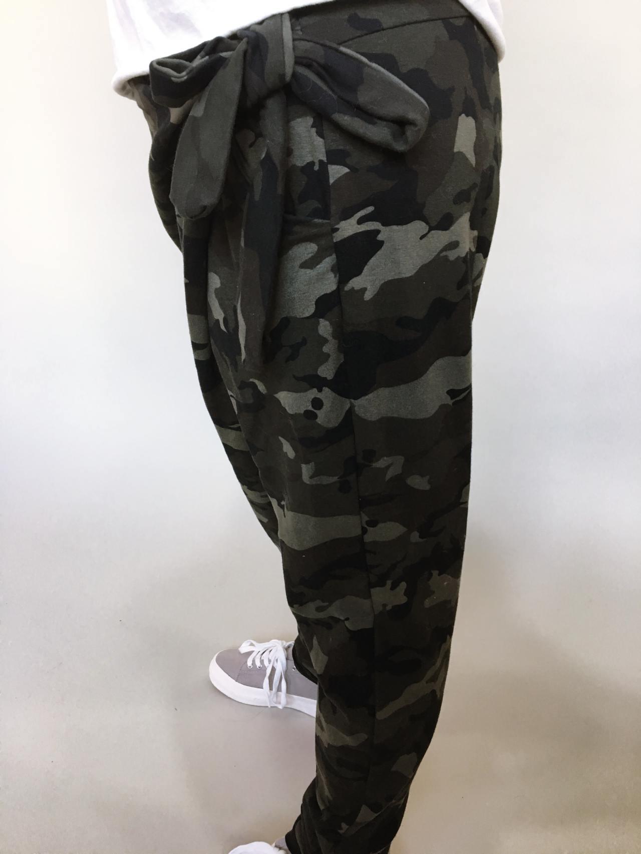 Módní kalhoty army 05