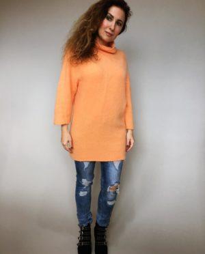 Oranžový svetr Lili 01