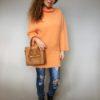 Oranžový svetr Lili 05