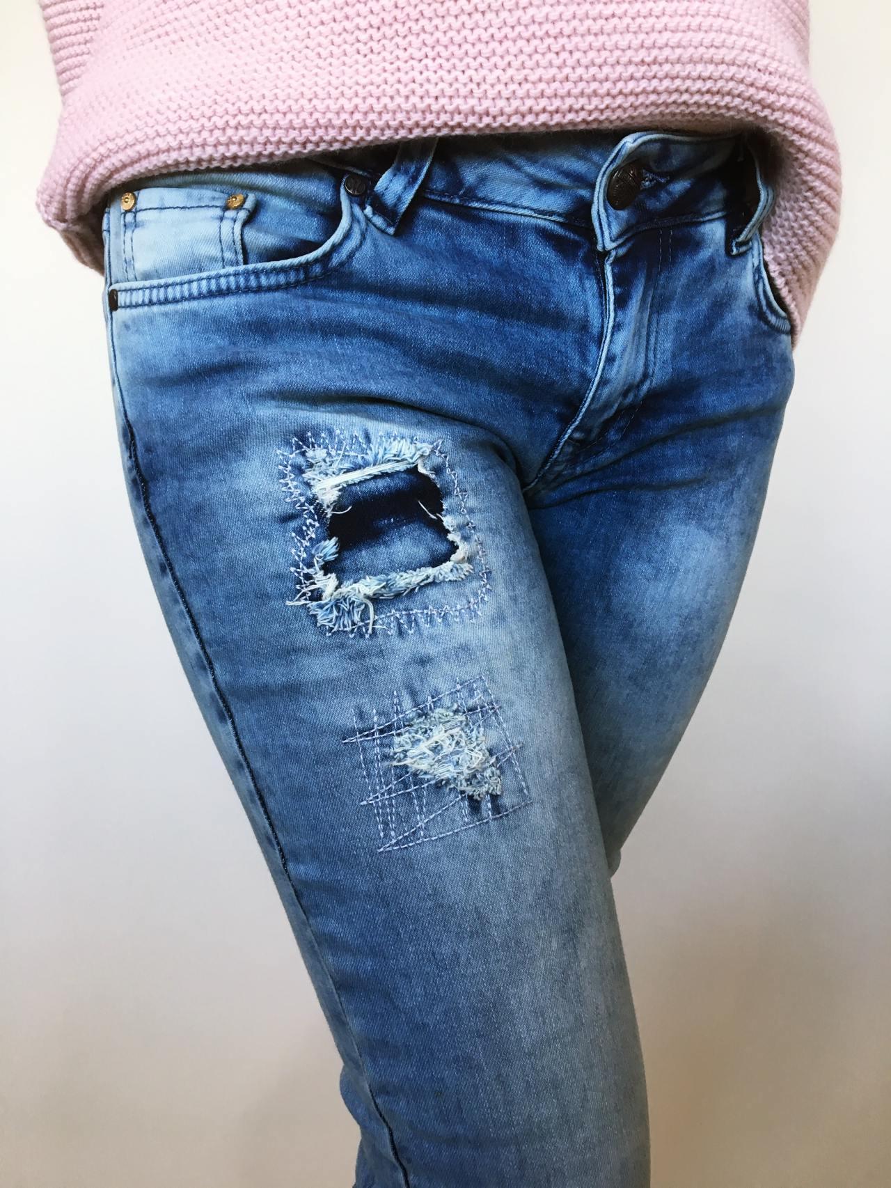 Rifle CST Jeans modré 04