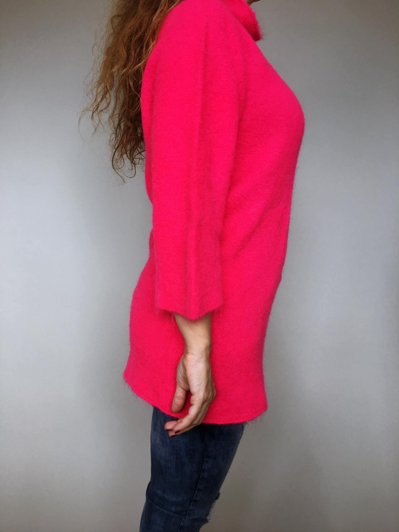 Růžový svetr Lili 04