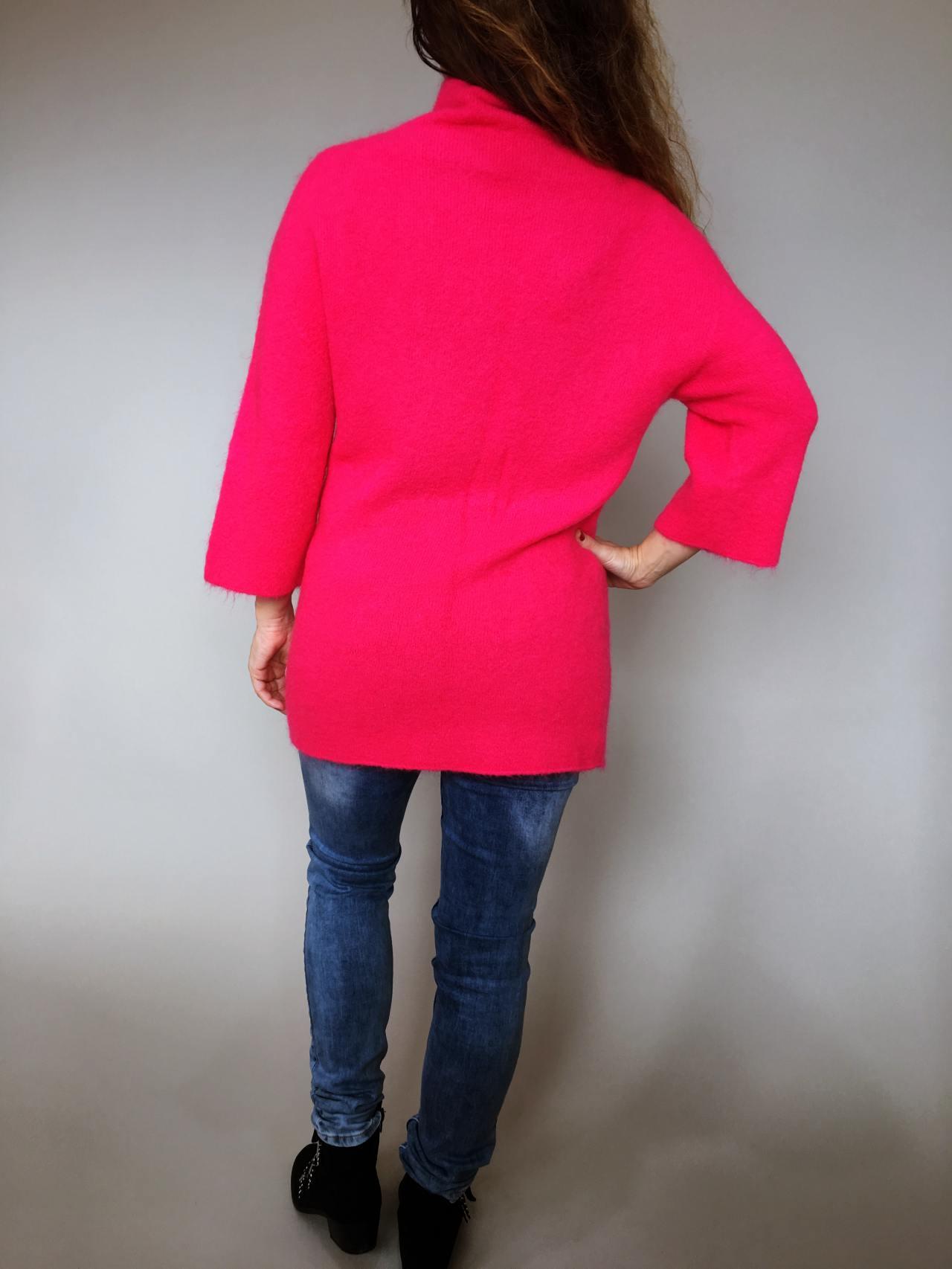 Růžový svetr Lili 05