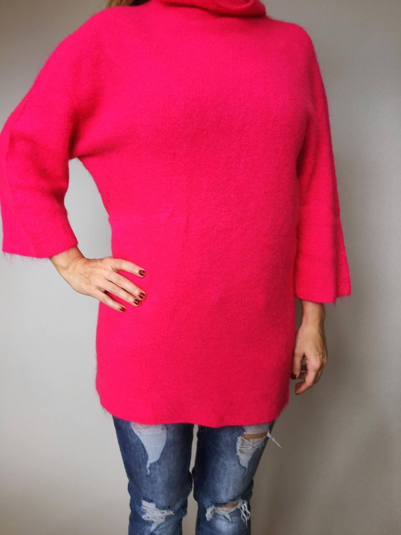 Růžový svetr Lili 06