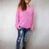 Růžový svetr Merlin 01