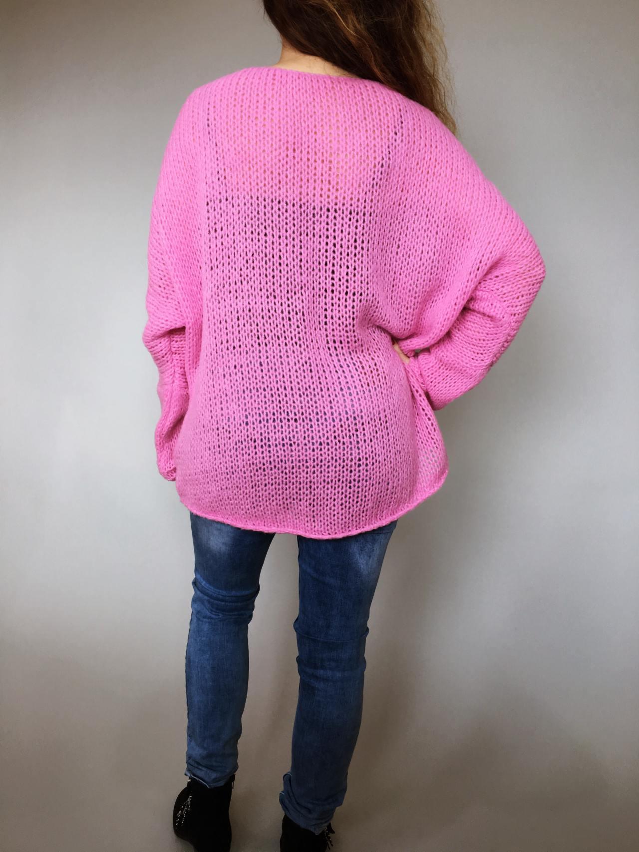 Růžový svetr Merlin 04