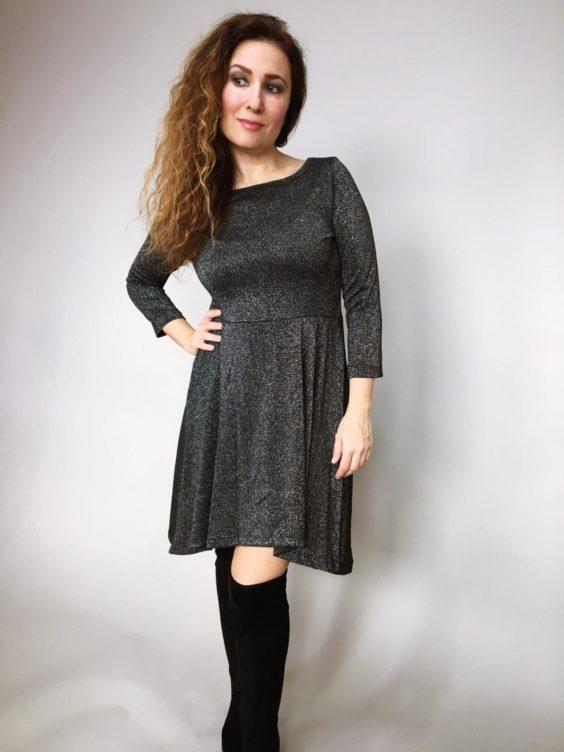 Šaty Carmen černé 01