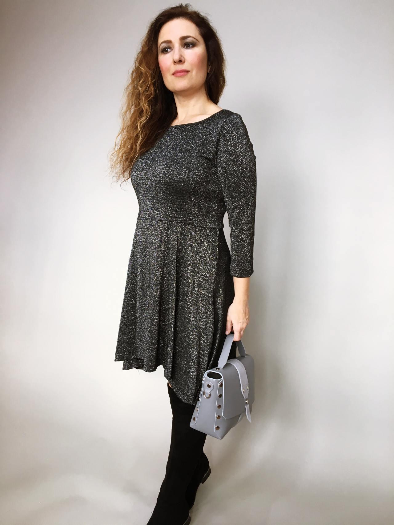Šaty Carmen černé 03