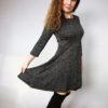 Šaty Carmen černé 05