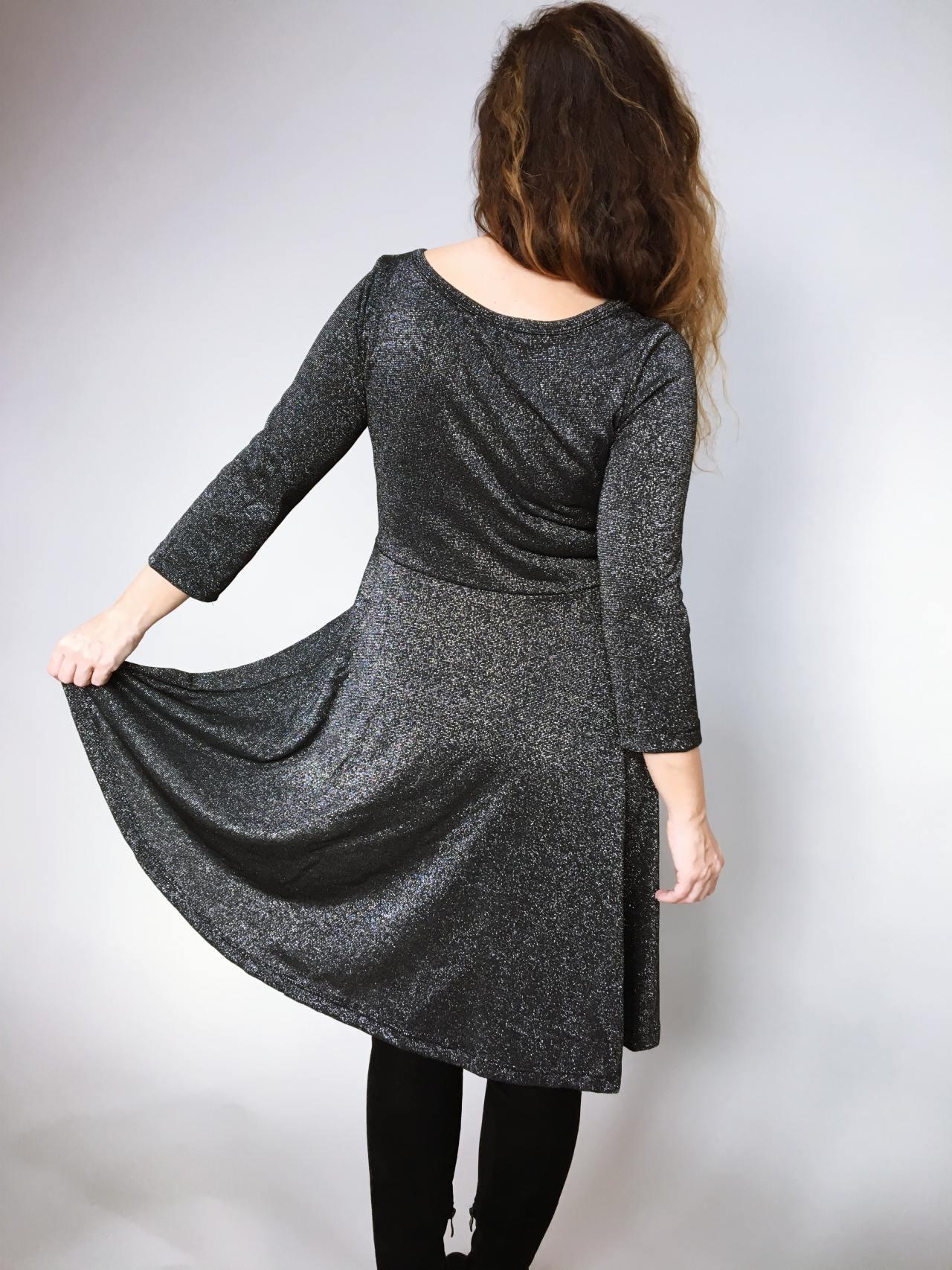 Šaty Carmen černé 06