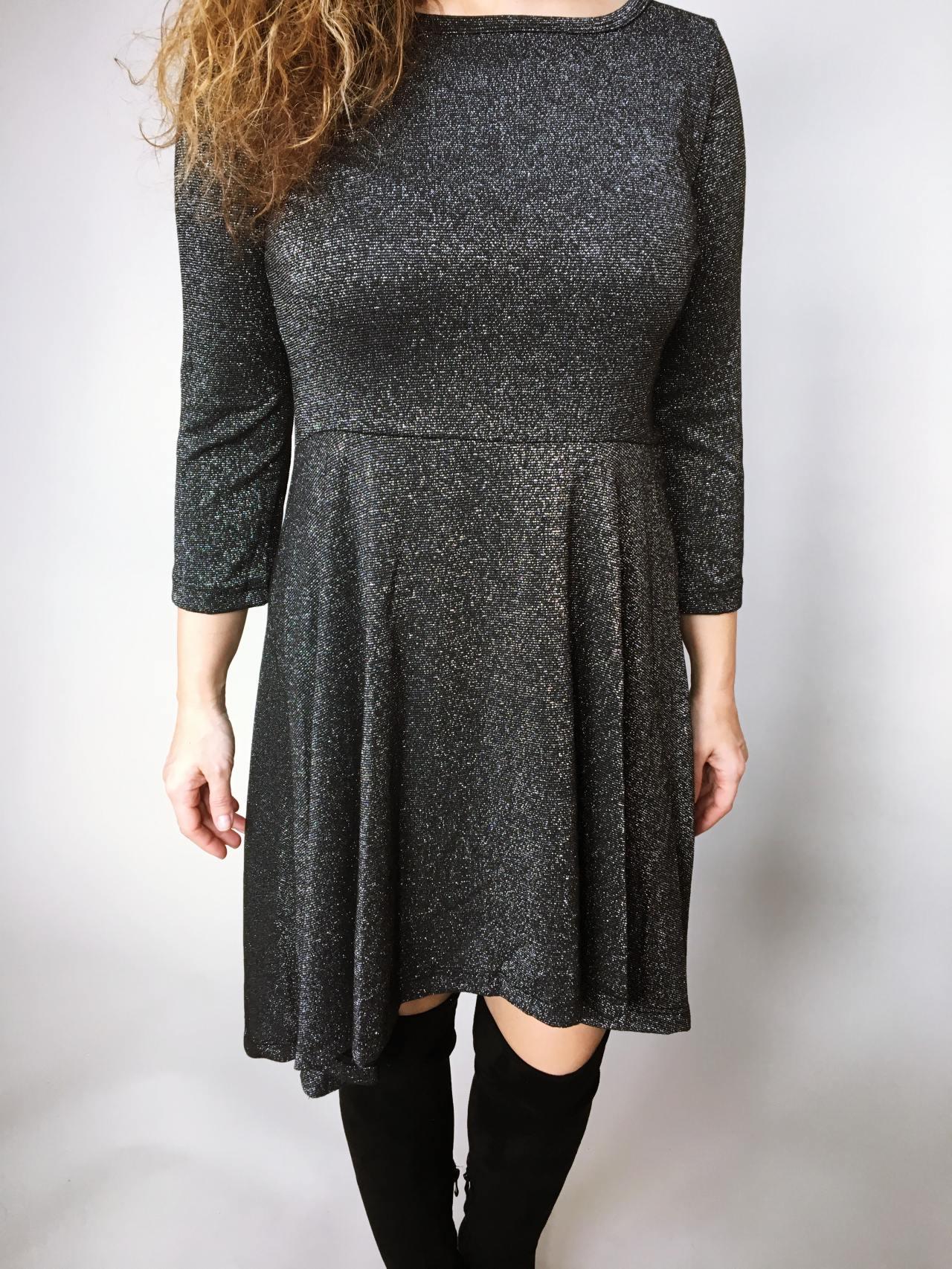 Šaty Carmen černé 07