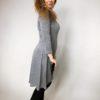 Šaty Carmen šedé 03