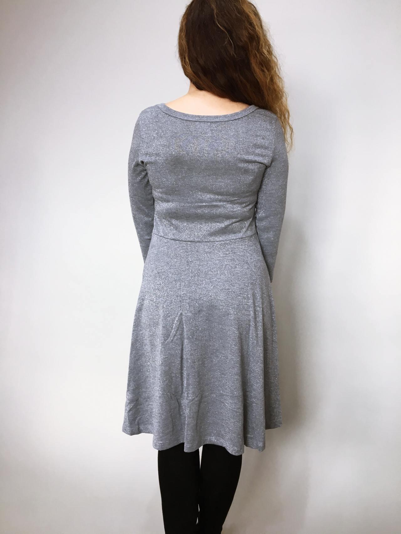 Šaty Carmen šedé 05