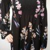 Šaty Flowers černé 02