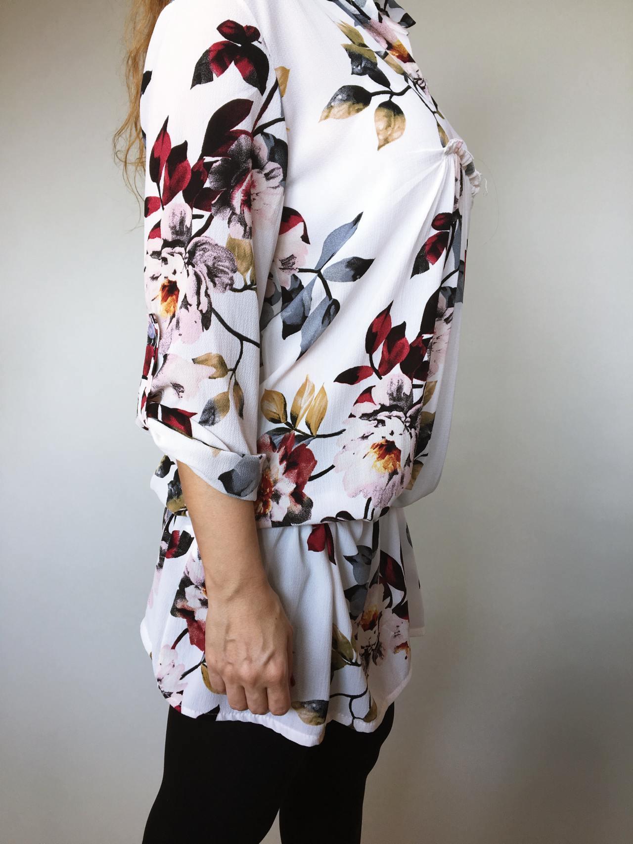 Šaty Jane s květy 04
