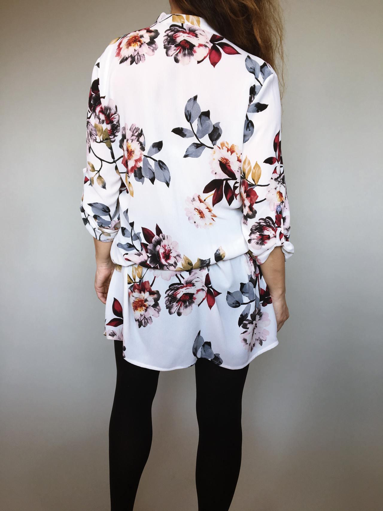 Šaty Jane s květy 05