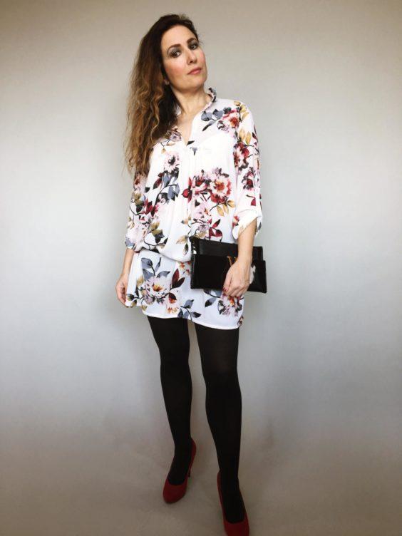 Šaty Jane s květy 06