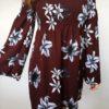 Šaty Lilie bordó 02