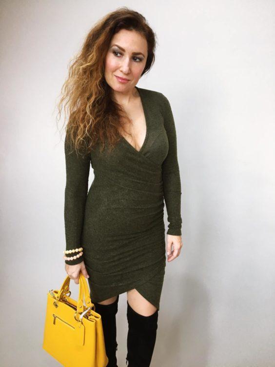 Šaty Lisa khaki 02