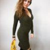 Šaty Lisa khaki 03