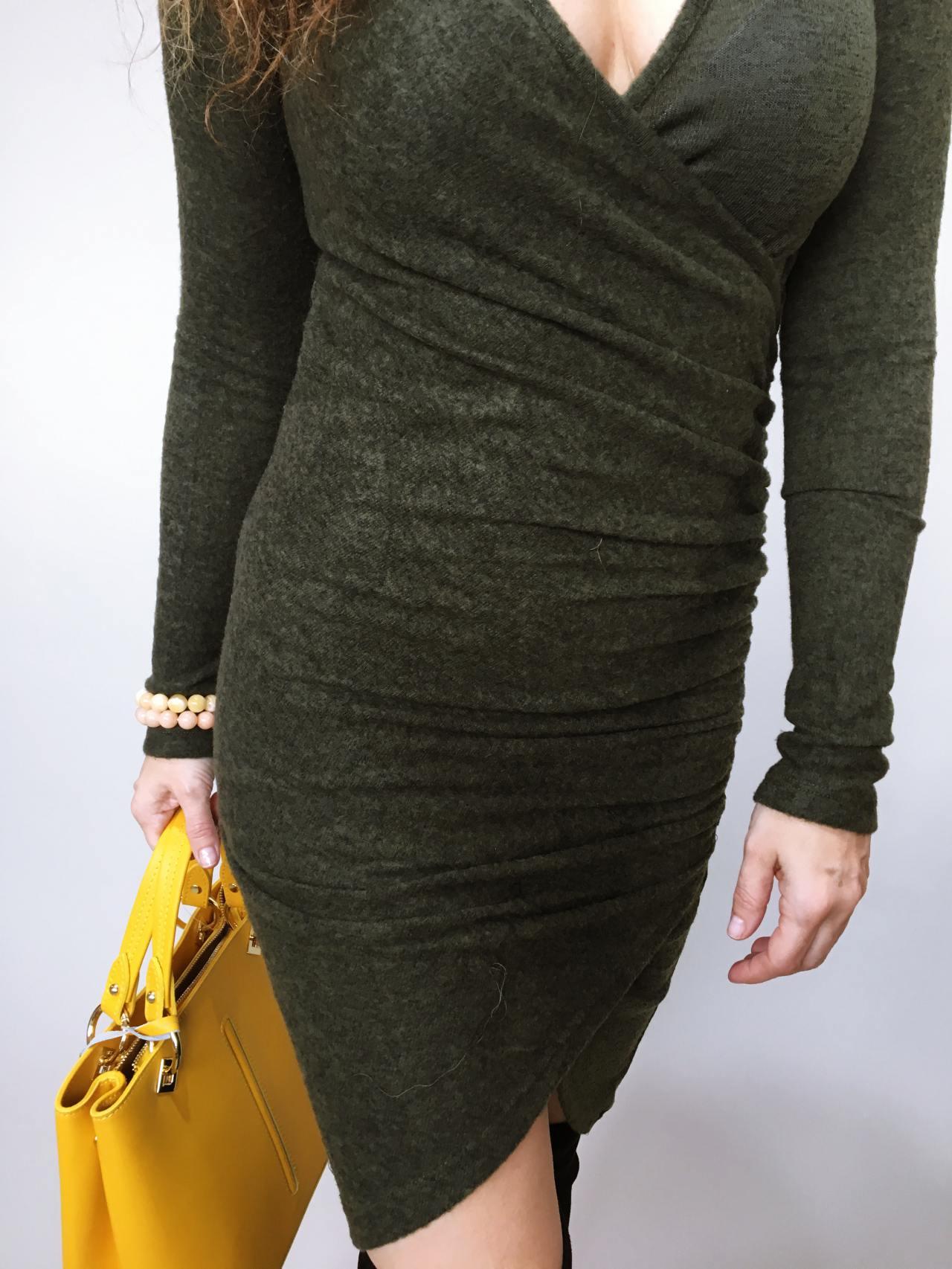 Šaty Lisa khaki 04
